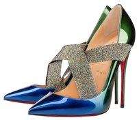Christian Louboutin Sharpstagram Never Worn Ocean - Amazone Pumps