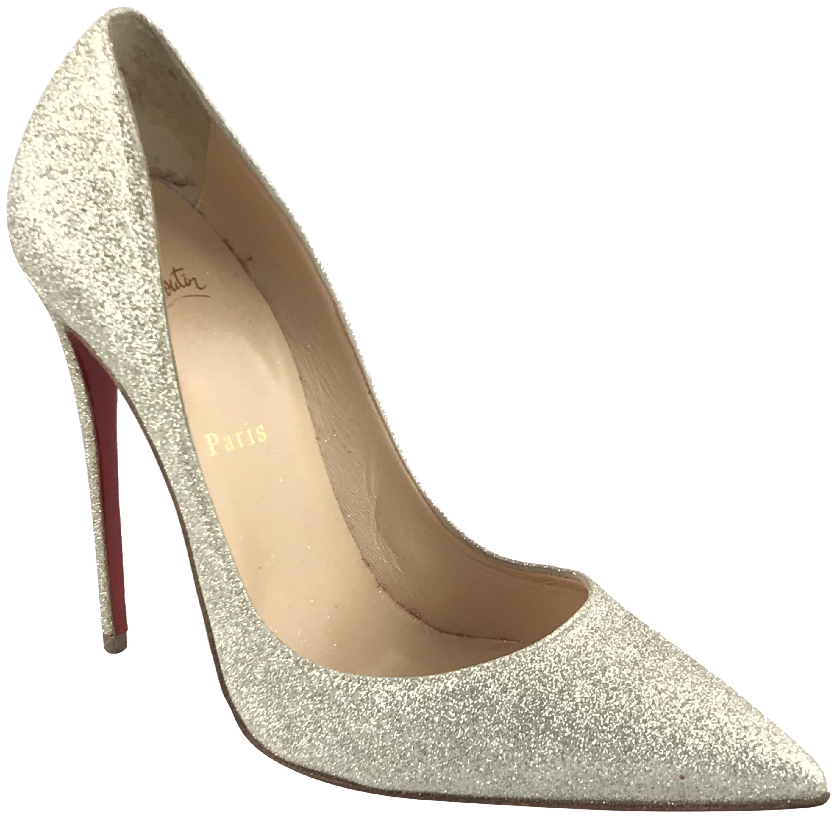548a852890c8 Christian Louboutin Silver-gold So Kate 120 Pumps Size EU 40 40 40 (Approx  Skip to content