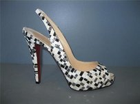 Christian Louboutin No Prive Mosaique Multi-Color Pumps
