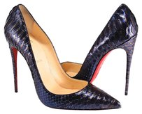 Christian Louboutin So Kate Python 120mm Snakeskin blue Pumps