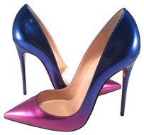 Christian Louboutin So Kate Impera Nye Pigalle blue pink Pumps