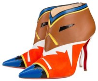 Christian Louboutin Suede Colorful Multi-Color Boots
