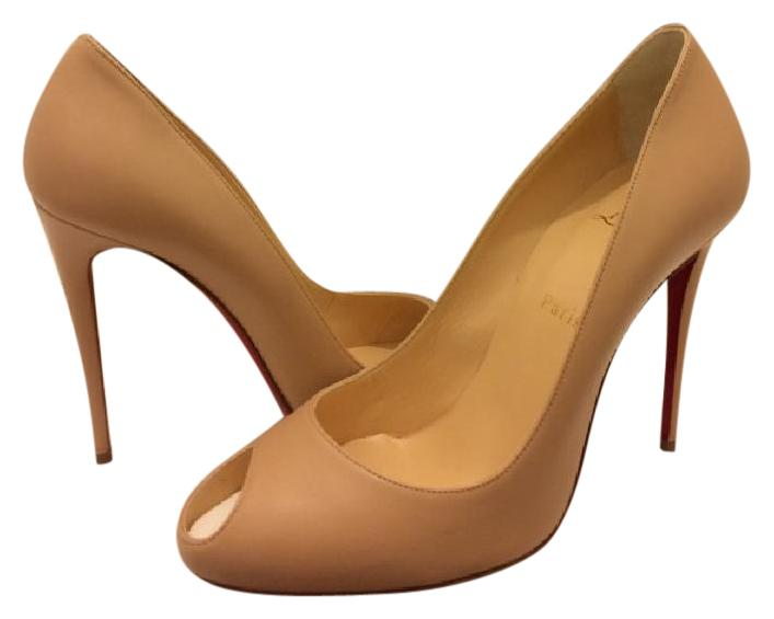 Christian Louboutin Tan Troulili Pumps Size US 9 Regular (M, B)