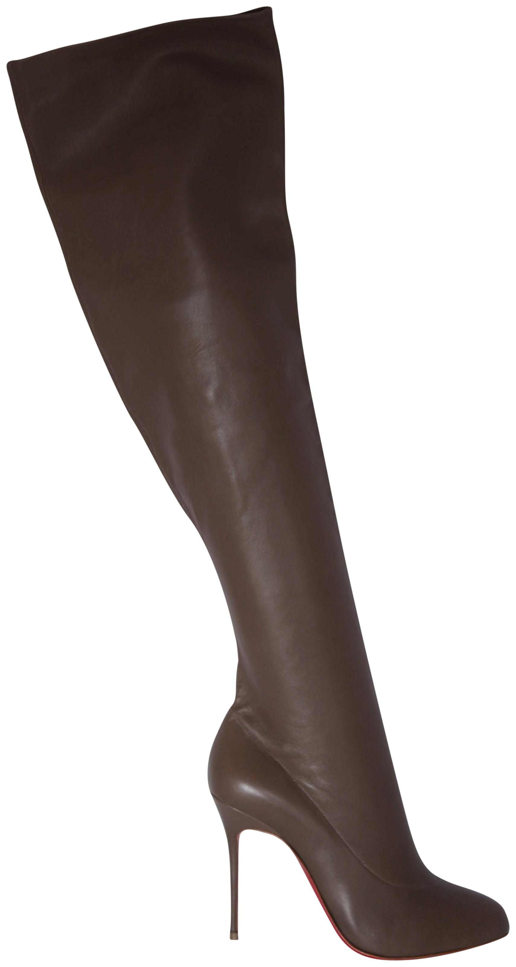 huge selection of 05f2f 21f44 france christian louboutin monica thigh high boots reviews ...