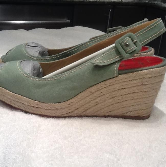 Christian Louboutin Wedges verde