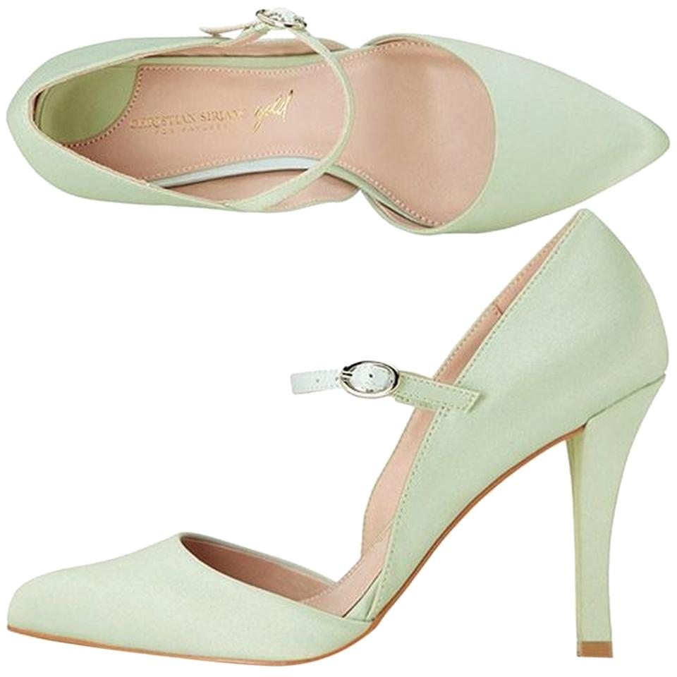 christian siriano for payless julie mint formal shoes on
