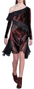 Christopher Kane Croc Silk Velvet Givenchy Dress