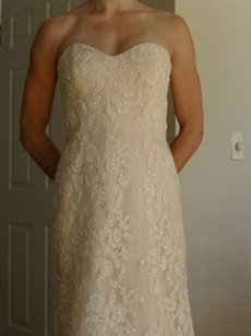 CHRISTOS Alita Wedding Dress