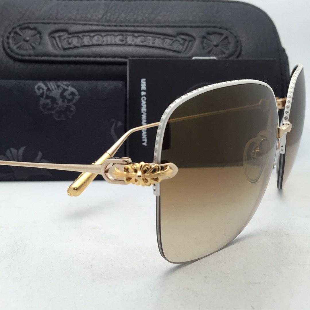 chrome hearts sunglasses  Hearts CHROME HEARTS Sunglasses SHAVED WP/GP White Pearl \u0026 Gold w ...