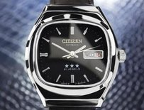 Citizen Citizen Automatic Collectible Stainless Japanese Mens Watch Circa 1970s Jr31