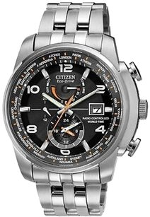 Citizen Citizen Eco-drive World Time At Radio Mens Watch At9010-52e