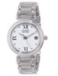 Citizen Citizen Eo1100-57a Marne Signature Stainless Steel Eco-drive Watch 22dc