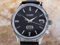 Citizen Citizen Jumbo Mens Japanese Automatic Vintage Watch C1960s Dx30