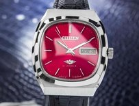 Citizen Citizen Mens Automatic 21 Jewels 1970s Stainless Retro Japanese Watch J31