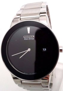 Citizen Citizen Eco-drive Mens Stainless Steel Axiom Chronograph Watch Au1060-51e