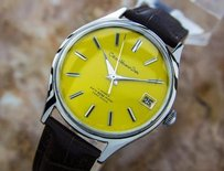 Citizen Collectible Mens Vintage Citizen Homer Date Japanese Mens Watch C1960s B18