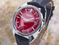Citizen Vintage Mens Citizen 4-820096 Te S.steel Automatic Watch 1970s Scx300