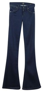 Citizens of Humanity Womens Med Wash 25 Pants Trousers Flare Leg Jeans