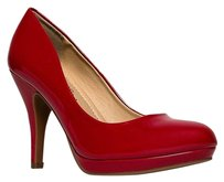 City Classified Red Pumps