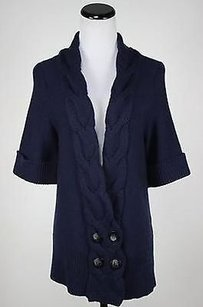 Classiques Entier Womens Navy Sweater