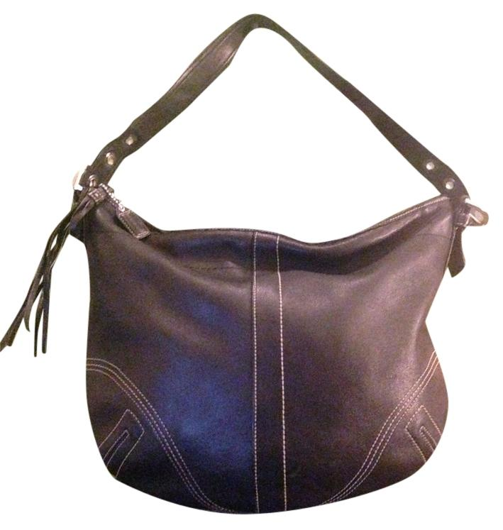 fc418f3c7f6 ... australia coach hobo bags up to 70 off at tradesy bb7d1 7a075 reduced coach  legacy smooth black leather ...
