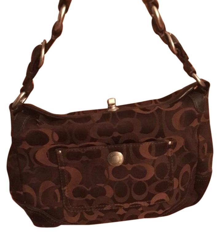 Coach brown hobo authentic