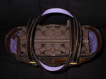 Coach Channel Louis Vuitton Dooney Bourked Vintage Tote in Multicolor, Brown