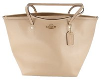 Coach Crossg Rain Taxi Texted Tote in NUDE