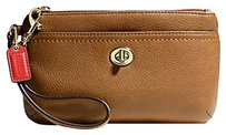 Coach F49472 49472 Wristlet in British Tan
