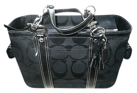 Coach Gucci Dooney Bourke Vintage Rare Tote in Black