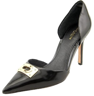 Coach Heel Pump Wedge Black Pumps