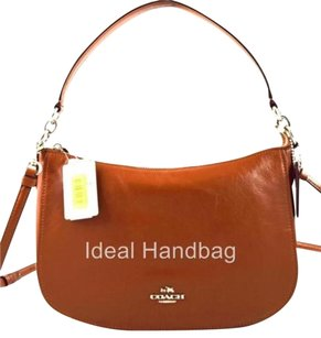Coach Leather Smooth Chelsea Hobo Bag