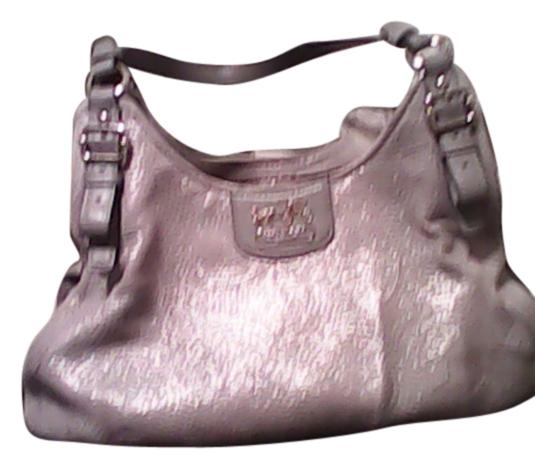 coach gray bag ezak  Coach Hobo Bag