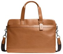 Coach Hudson F71561 Leather Laptop Bag