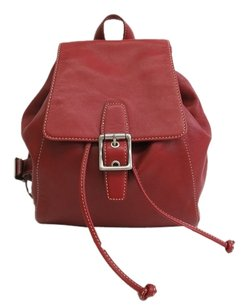 Coach Leather Stock01300 Backpack