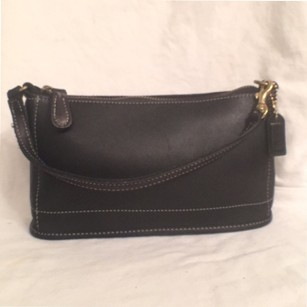 Coach Leather Wristlet Shoulder Bag