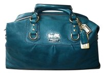 Coach Louis Vuitton Dooney Gucci Channel Rare Vintage Tote in Blue