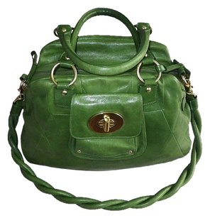 Coach Louis Vuitton Dooney Gucci Channel Rare Vintage Tote in Greens