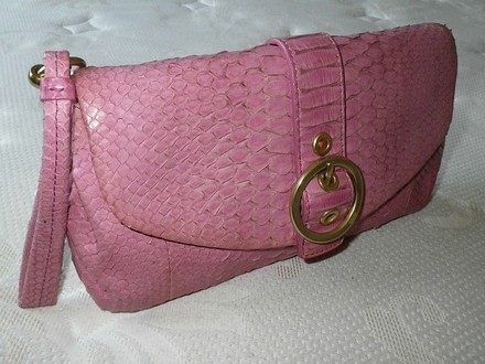 Coach Dooney Bourke Louis Vuitton Gucci Rare Pink Clutch