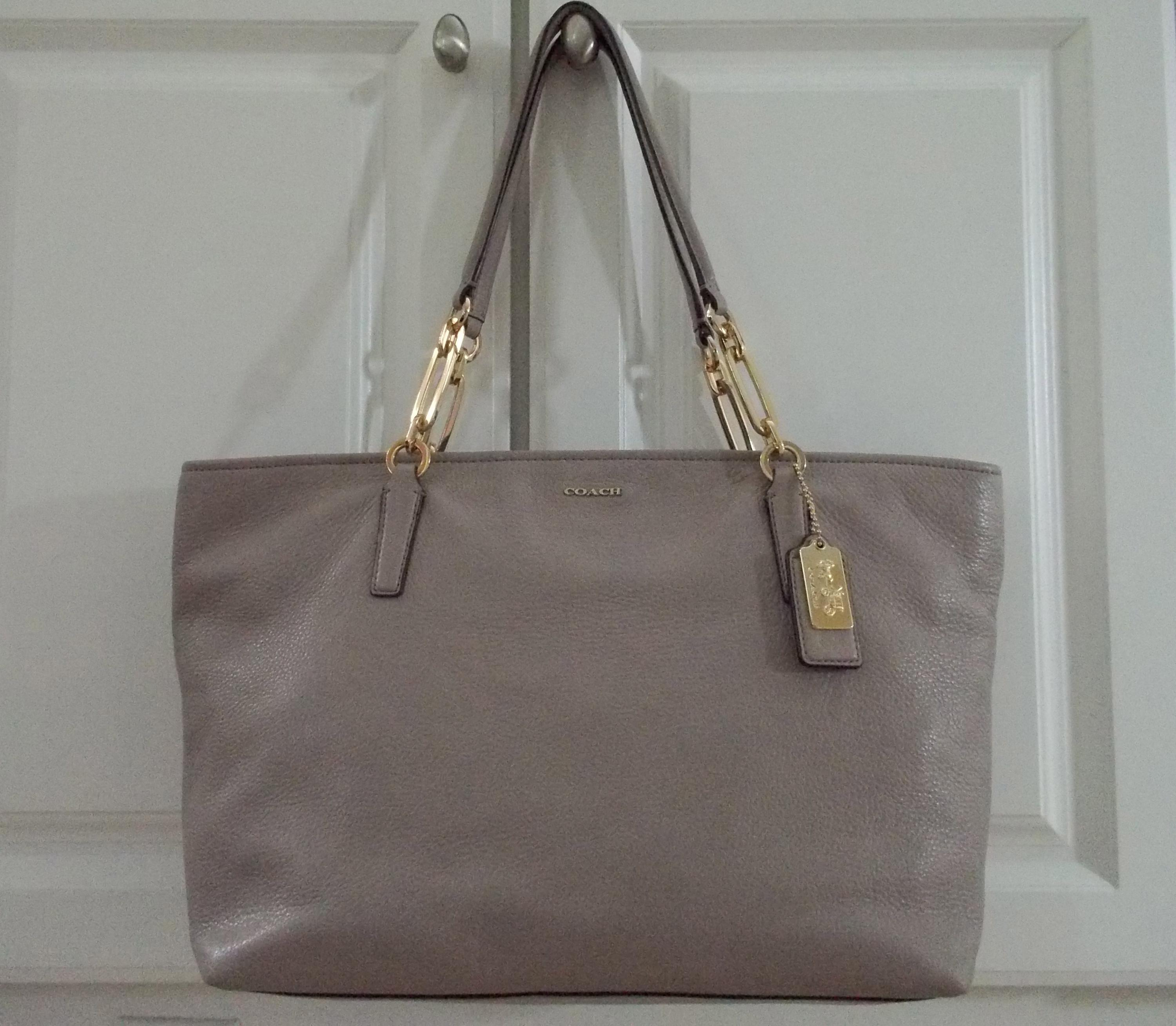12345678 41caa a5d48  norway coach madison east west grey birch leather  tote tradesy 88579 f4e55 df7bc412a2