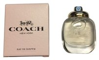 Coach NEW COACH NEW YORK PERFUME MINI TRAVEL SIZE 0.15 FL OZ EAU DE PARFUM