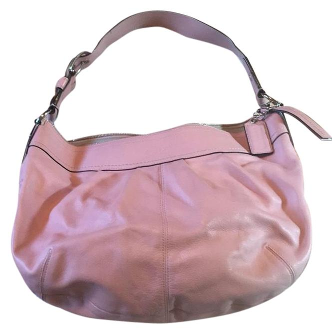 95d697a39ef7 coupon for coach bags hot pink leather coach purse 85b4e a3e38  hot coach  pink leather hobo bag tradesy 848f1 0b7df