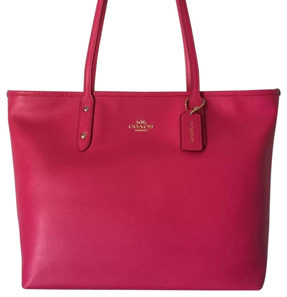 8f25552713 where to buy coach pink tote bag a80f0 6dba1