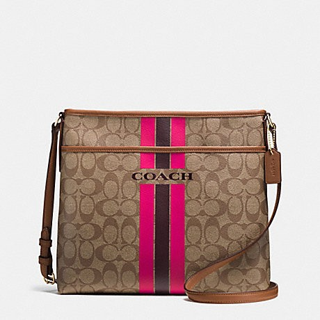 68ae09dea1 good coach stripe crossbody bag leather 2066b a7dc4