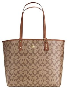 Coach Satchel 36126 36609 Tote in BROWN Saddle