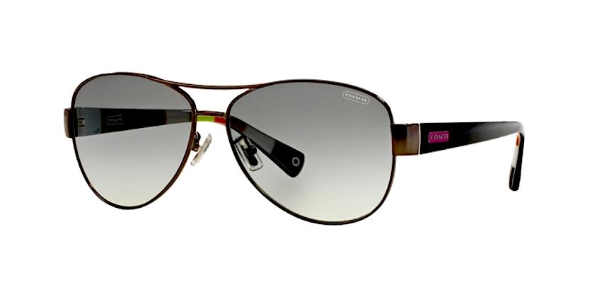 b35896f96d370 wholesale coach sunglasses e984a ded66  promo code coach coach kristina  aviator sunglasses hc 7003 silver with pink coach logo. 12345678910