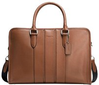 Coach Smooth Leather Laptop Bag