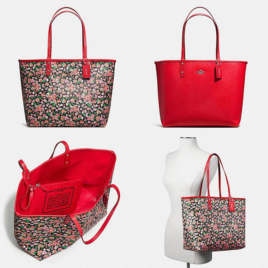 9210953be298a where to buy coach tote bag reversible a0123 b212c