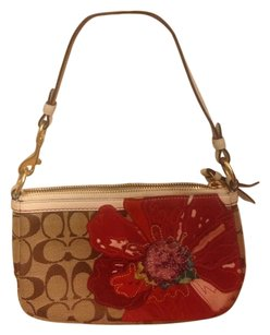 Coach Tote in Red,Brown,Tan
