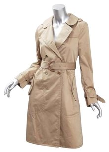 Coach Womens Belted Trench Jacket Trench Coat